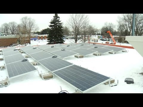 Largest MN city solar project begins in Brooklyn Park