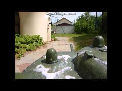 Une vidéo de mon premier char RC 1/16 qui est un KV-1E converti en prototype de tank Soviétique T-150 durant la seconde guerre mondiale abattu à ...