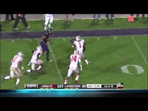 Kain Colter vs Ohio St. 2013 video.