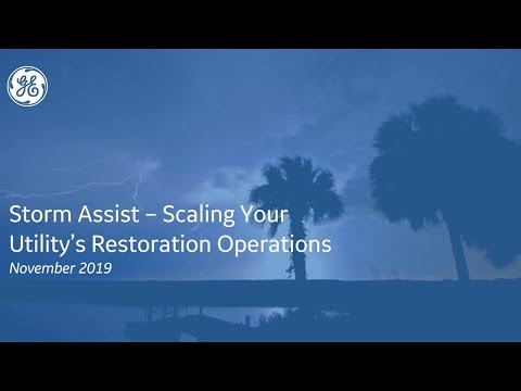 Storm Assist – Scaling Your Utility's Restoration Operations