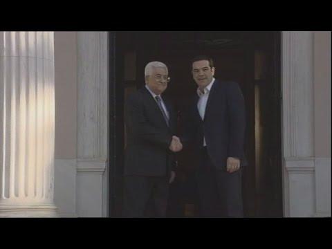 Αλ. Τσίπρας: Δίνουμε νέα ώθηση στην επίλυση του παλαιστινιακού ζητήματος