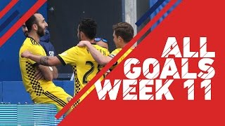 Take a look at every goal scored during Week 11 of the MLS regular season. Subscribe to our channel for more soccer content: ...