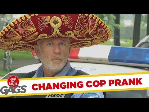Poliţistul cu mintea creaţă (video)