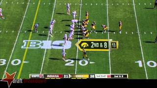 Brandon Scherff vs Indiana (2014)