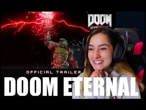 Doom Eternal: Official Trailer 2 (Reaction x2)
