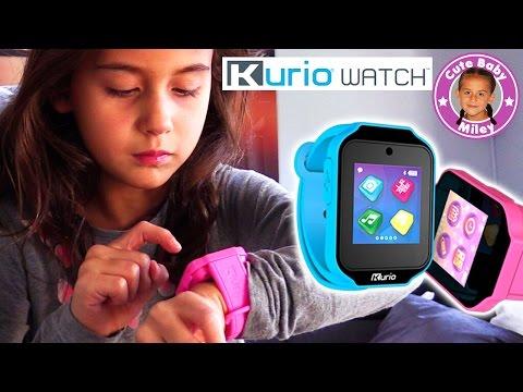 Ultimative KINDER SMARTWATCH   Wir testen die neue Kurio Watch   CuteBabyMiley