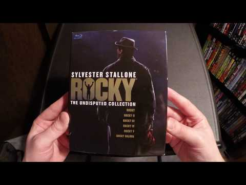 Rocky The Undisputed Collection Blu-Ray Unboxing