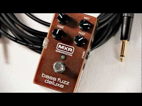 MXR Bass Fuzz Deluxe: Chris