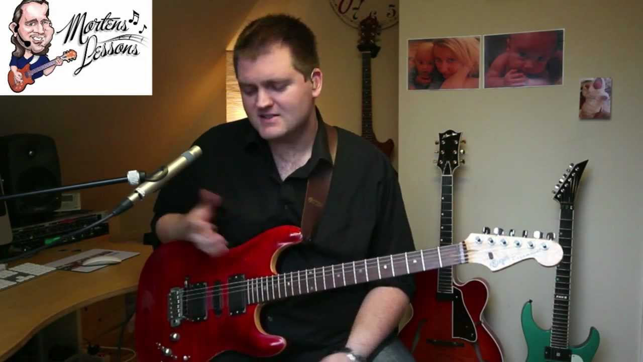 Stepping outside the blues box – ADVANCED GUITAR LESSON by Morten Faerestrand