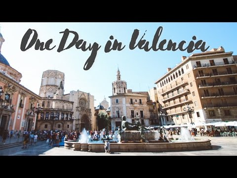 One Day in Valencia, Spain
