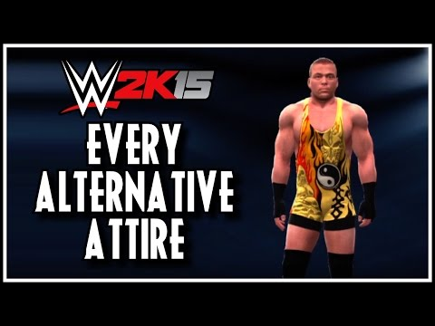 alternative - Lets take a look at all the unlockable WWE 2K15 attires! ▻▻ Join #TEAM101 Today: http://goo.gl/Wriyiu ◅◅ Some of you guys requested I show off the unlockable alternative attires, so...