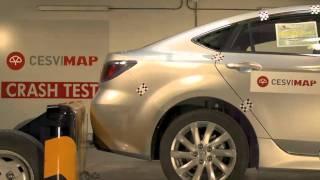 Crash test trasero Mazda 6 en CESVIMAP