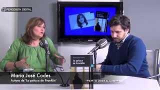 María José Codes, autora de 'La peluca de Franklin'. 12-3-2015