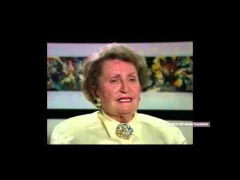 ניצולת שואה מנדבורנה שבפולין, מספרת על היחסים עם חברה נוצריה לפני השואה