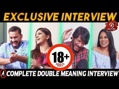 Strictly 18+ A complete Double Meaning Interview With Iruttu Araiyil Murattu Kuththu Team