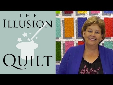 , title : 'Illusion Block Quilt - Easy Quilting Tutorial from Jenny Doan & Missouri Star'