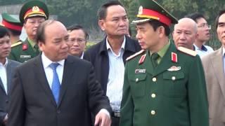 Thủ tướng Chính phủ Nguyễn Xuân Phúc kiểm tra kết quả tu bổ năm 2016