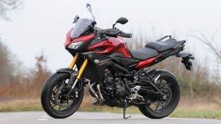 10. Yamaha MT-09 / FJ-09 Tracer - Full review, ride and walkaround - 2015