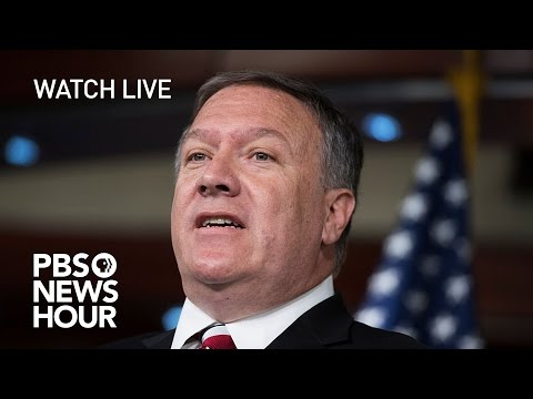 WATCH LIVE: Rep. Mike Pompeo confirmation hearing