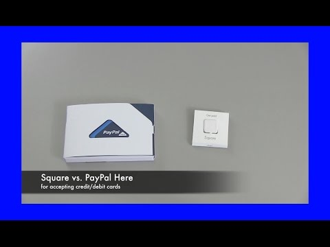 Square - Square payments vs PayPal Here for accepting credit card payments. I'm using PayPal Here for now and I talk about why The fees are nearly identical for each ...