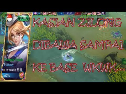 tz·zxuan小璐(BEST FANNY IN THE WORLD) INSANE GAMEPLAY!! GILA BENER DIVING AMPE KE BASE MUSUH!!!