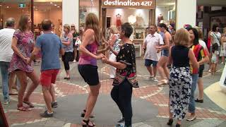 International Rueda Multi Flashmob Surfers Paradise Australia 2018
