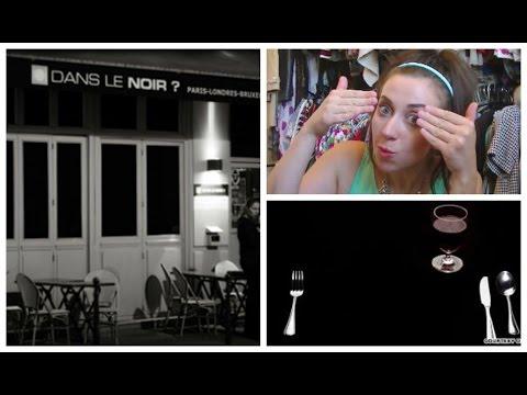 Eating in the DARK?! - Dans Le Noir London Restaurant Review   FashionQuirks