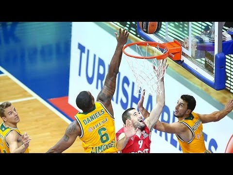 Highlights: RS Round 2, Cedevita Zagreb 80-84 Limoges CSP