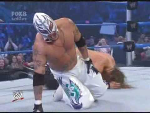 Smackdown! (25/01/2008) - Rey Mysterio Vs The Edgeheads