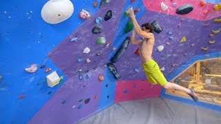 PINCH POWER FOR DAYS! by Eric Karlsson Bouldering