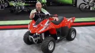 7. Kawasaki KFX 50 Product Review