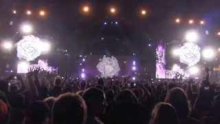 FLYING LOTUS - LAYER 3 AND THEN SOME - LIVE @ HARD SUMMER FEST - 8.3.2013