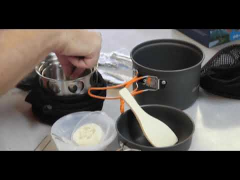 Nulipalm DS-201 Backpacking Cook Set