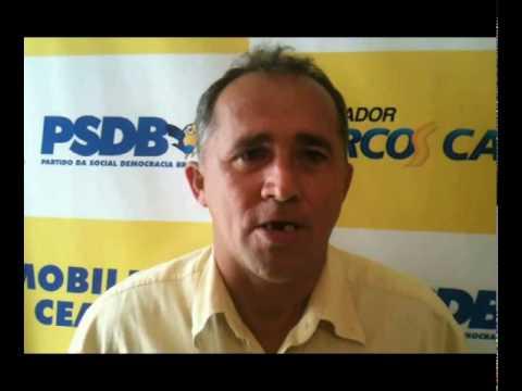 Vereador Marcione Correia de Palhano vota em Marcos Cals