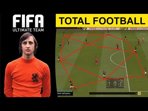 HOW TO PLAY TOTAL FOOTBALL IN FIFA 20 ULTIMATE TEAM CUSTO TAC… видео