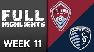 HIGHLIGHTS: Colorado Rapids vs. Sporting Kansas City | May 11, 2016 by Major League Soccer