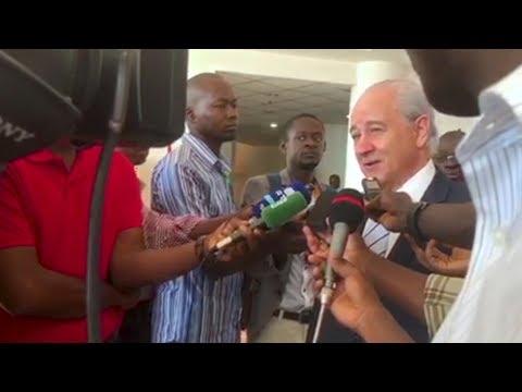 Declarações de Rui Rio no terceiro dia de visita à Guiné-Bissau