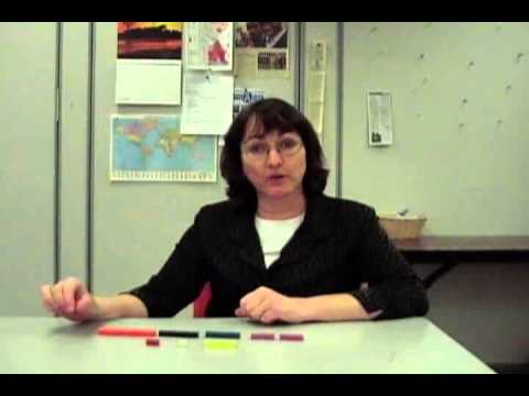 School of Teaching ESL Cuisenaire Rods Demonstration
