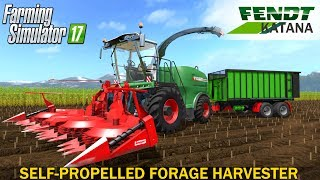 FENDT KATANA 65/85models:Katana 65 - R6 engine with the power of 625 hpKatana 85 - V12 engine with the power of 850 hp (2 exhausts at the rear)In the package we have 3 cutters:Kemper 390 special for Fendt Katana 85Kemper 460 for Fendt Katana 65Kemper P3000You can use the Spartan 610!Main Information:WashbarThe first approach to improve the texturesIC control scriptLightingMirrorsOther soundsDoor Opener ScriptAll inside Huds and a computer system made by me!Many animation in the cabinJoystick animation2 sets of tires developed by ExtremeBB!In the LOG you will find no errors;)Developer website FS 17 - http://www.farming-simulator.comWebsite mods - https://www.modsgaming.usFS 17 fan group facebook - https://www.facebook.com/groups/FarmingSimulatorMods/FS 17 fan group VK - https://vk.com/farming_simulator_2013_gamePlaylist FS 17 - https://www.youtube.com/playlist?list=PL54hHM4RuNpdwE1PKqLxgb5r59byxQTolLink Mod FENDT KATANA 65/85 - https://www.modsgaming.us/load/farming_simulator_2017/fs_17_combines/fendt_katana_65_85_v1_0/12-1-0-1144Link Mod FENDT – TMK100K - https://www.modsgaming.us/load/farming_simulator_2017/fs_17_trailers/fendt_tmk100k_v_1_0_fs17/18-1-0-1137Link Map INHERITANCE - https://www.modsgaming.us/load/farming_simulator_2017/fs_17_maps/inheritance_v0_5_beta/28-1-0-806Authors mod: ExtremeBB, Avirum3D, Steph, Marthu