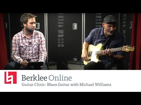 Michael Williams - Blues Guitar - Berkleemusic Open House