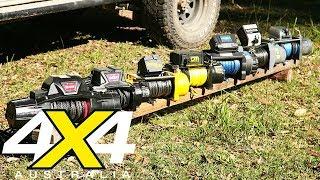 12-volt winch comparison review   4X4 Australia