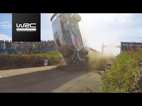 WRC 2 - Vodafone Rally de Portugal 2017: CRASH Quentin Gilber