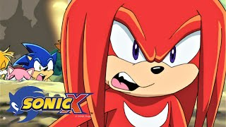 SONIC X Ep5 - Cracking Knuckles