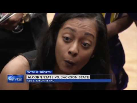 Alcorn State Sweeps Double Header with Jackson State University 01112017