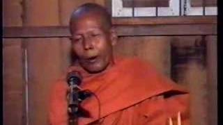 Khmer Culture - DhammaTalk by Ven. Soeung Suong in Cambodia