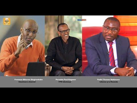 Icyo Padiri Thomas Nahimana na Freeman Bikorwa bavuze ku kiganiro Paul Kagame yagize kuri Rwanda TV