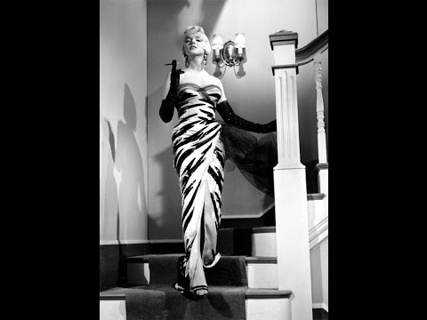 The Seven Year Itch Main Title_Marilyn Monroe Tiger Dress 1955