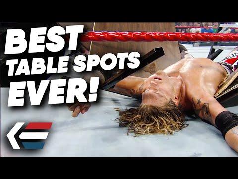 10 GREATEST Table Spots in Wrestling History | WrestleTalk
