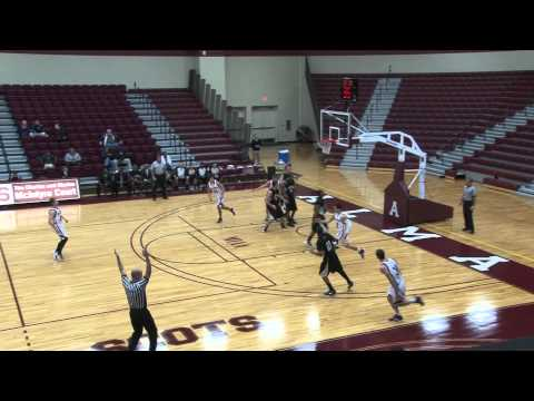 Alma College Men's Basketball vs. Adrian College - January 18, 2012