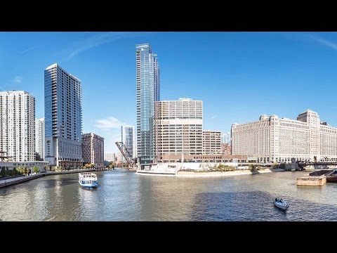 Tour Wolf Point West apartments with co-developer Chris Kennedy